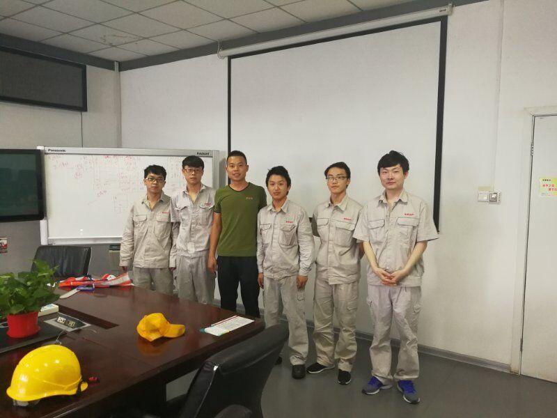 校长助理韩斌看望河南东风日产就业学生